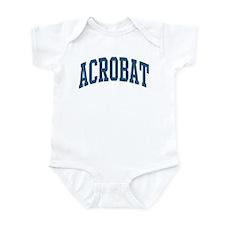 Acrobat Occupation Collegiate Style Infant Bodysui