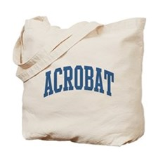 Acrobat Occupation Collegiate Style Tote Bag
