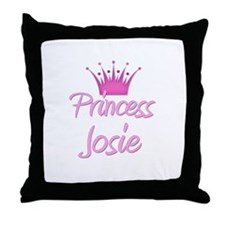 Princess Josie Throw Pillow