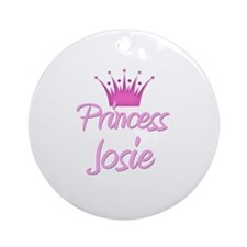Princess Josie Ornament (Round)