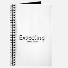 Expecting Thru Faith Journal
