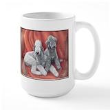 Bedlington terrier Coffee Mugs