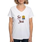 Sir Josiah Women's V-Neck T-Shirt
