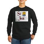 Sir Josiah Long Sleeve Dark T-Shirt