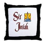Sir Josiah Throw Pillow