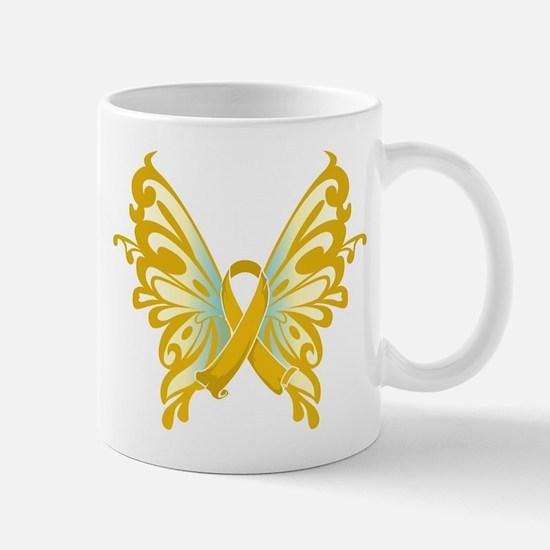 Childhood Cancer Butterfly Mug