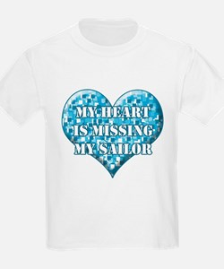 My heart is missing my sailor T-Shirt