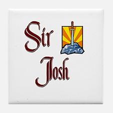 Sir Josh Tile Coaster