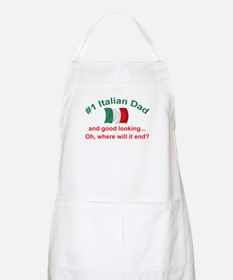 Good Looking Italian Dad BBQ Apron