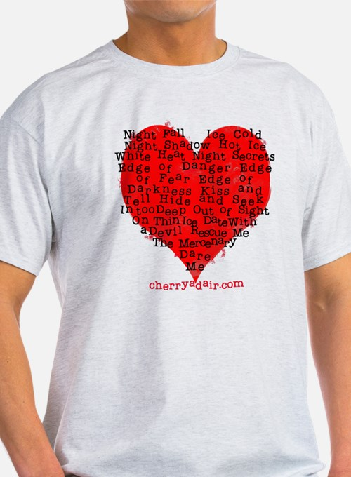 Have a Heart Heather Gray or Oatmeal T-Shirt