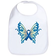 Colon Cancer Butterfly Bib