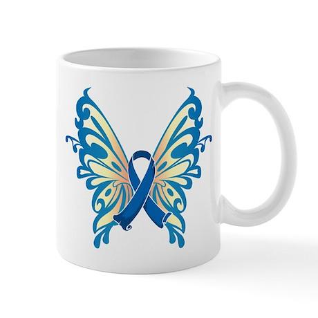 Colon Cancer Butterfly Mug