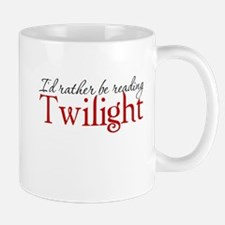 I'd rather be reading Twiligh Mug