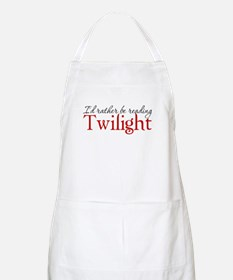 I'd rather be reading Twiligh BBQ Apron