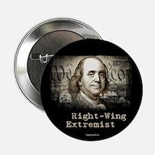 """RW Extremist - Ben Franklin 2.25"""" Button (10 pack)"""