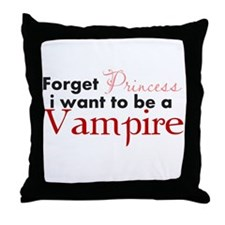 Forget Princess Throw Pillow