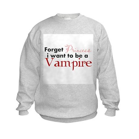 Forget Princess Kids Sweatshirt