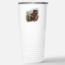 Golden Retriever Art Travel Mug