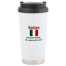 Good Looking Italian Travel Mug
