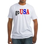 go USA Fitted T-Shirt