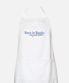 Boys in Books BBQ Apron