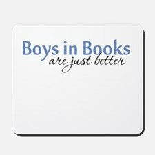 Boys in Books Mousepad