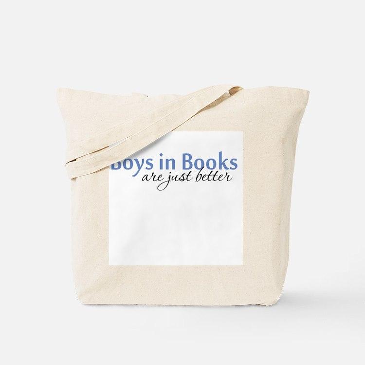 Boys in Books Tote Bag