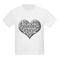 My heart is with my kids T-Shirt