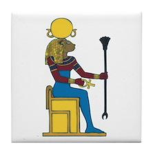 Goddess Sekhmet Tile Coaster