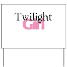 Twilight Girl Yard Sign