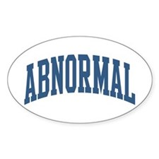 Abnormal Nickname Collegiate Style Decal