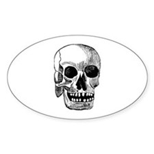 Craneo Oval Decal