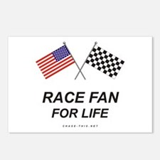 Race Fan For Life Postcards (Package of 8)
