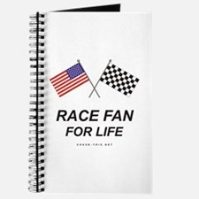 Race Fan For Life Journal