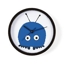 Blue Wuppie Wall Clock