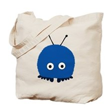 Blue Wuppie Tote Bag