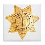 Yuma County Sheriff Tile Coaster