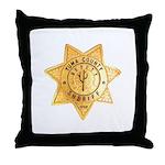 Yuma County Sheriff Throw Pillow