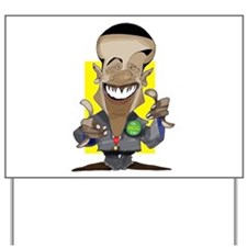 O.H.Y. Prez Obama Yard Sign