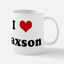 I Love Jaxson Mug