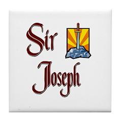 Sir Joseph Tile Coaster