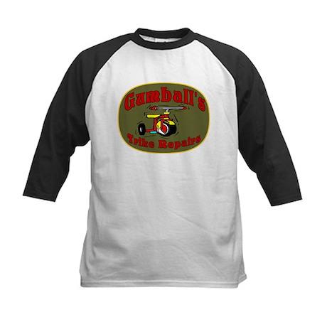 Gumball Trike Repair Kids Baseball Jersey