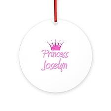 Princess Joselyn Ornament (Round)