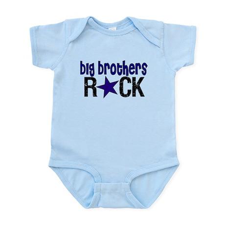 Big Brothers Rock Infant Bodysuit
