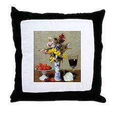 Fantin-Latour Throw Pillow