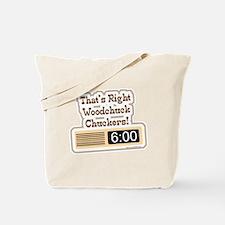Groundhog Holiday Tote Bag