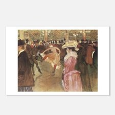 Toulouse-Lautrec Postcards (Package of 8)