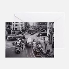 San Francisco Bustling Inters Greeting Cards (Pk o