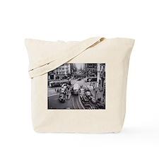 San Francisco Bustling Inters Tote Bag