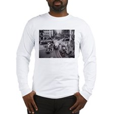 San Francisco Bustling Inters Long Sleeve T-Shirt